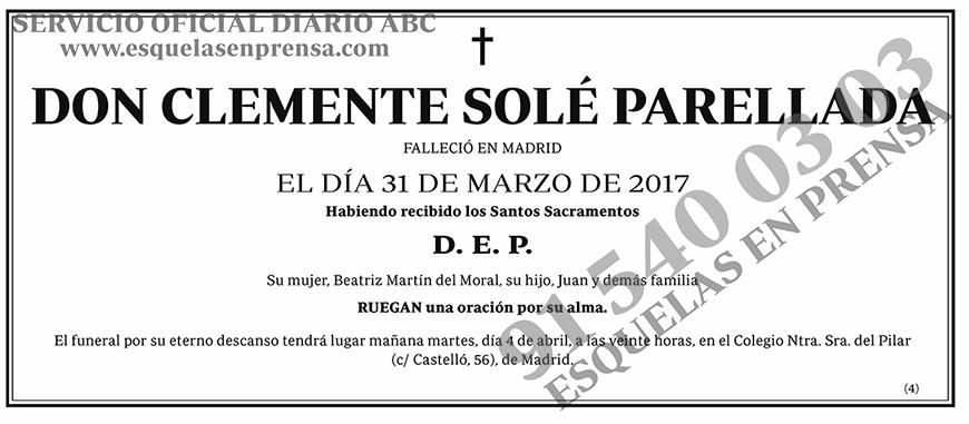 Clemente Solé Parellada